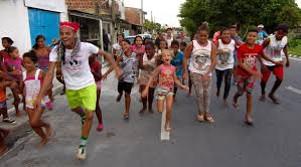 coinvolgimento dei ragazzi di strada nelle favelas di Recife