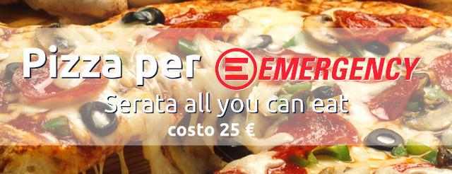 Emergency - serata pizza - 5 giugno Bollengo